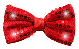 Bow-Tie-Metallic-with-LED-and-sequins-Red