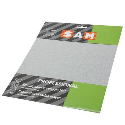 Sampro schuurpapier droog fijn/mid. 3vel