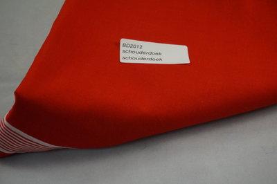Grote Rode boeren doek om pver de schouders te dragen