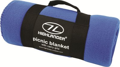 Fleece Blanket Blue