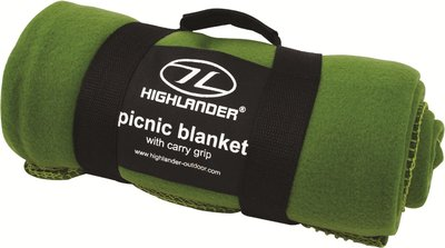 Fleece Blanket Olive