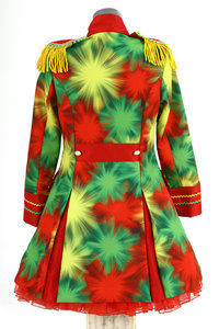 rood geel groen dames lang