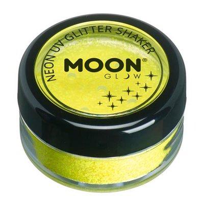 Glitter Shaker Neon Golden Yellow