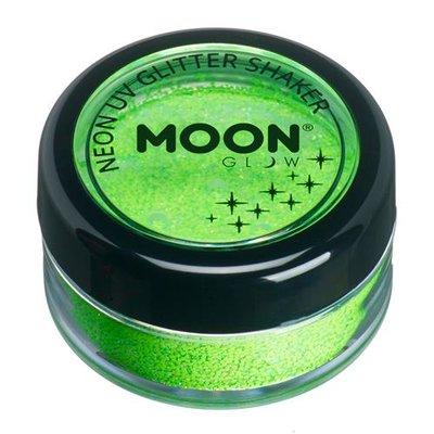 Glitter Shaker Neon Green