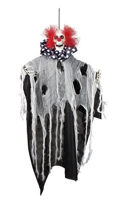 Decoration Freaky clown 70cm