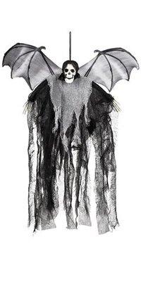 Decoration Skull bat reaper 60cm