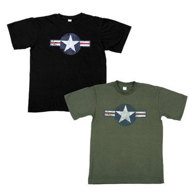 T-shirt WWII zwart