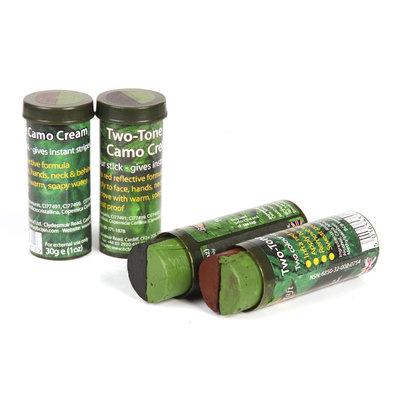 Camo stick 2 kleuren zwart/groen