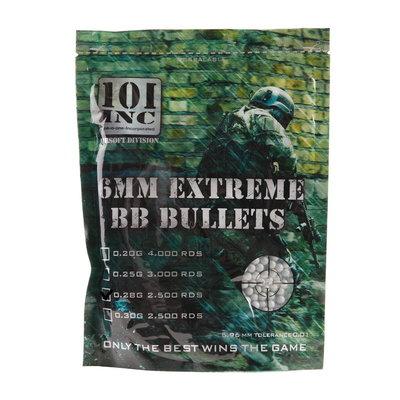 Airsoft extreme BBs 0,28g 6mm zak (grijs)