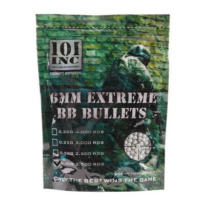Airsoft extreme BBs 0,30g 6mm zak (grijs)