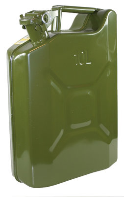 JERRYCAN 10 LTR METAAL