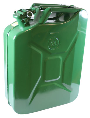 JERRYCAN 20 LTR METAAL