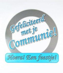 Huldeschild Communie